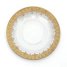 Arte Italica Set of 4 Vetro Gold Dinner Plates