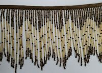 Perial co beaded fringe hand work very full and elegant for lampshade USA SELLER