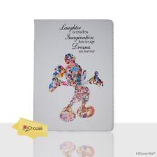 FAN de Disney Arte Estuche/Cubierta Para Apple iPad Mini 4 Retina/folio billetera de cuero/cita