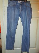 Old Navy The Diva Blue Denim Jeans Size 8 Actual 31 x 30 short