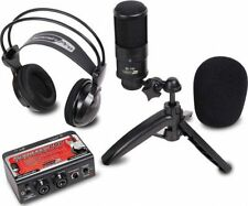 Dj Tech STUDIOPACK202 Studio Recording Kit W/ Usb Audio Interface, Condenser