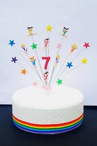 gymnastics / gym birthday cake topper, personalised with any age, Handmade