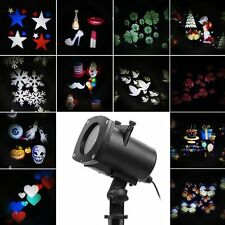 Weihnachten LED Effektlicht wasserdicht LED Projektor Lichter mit 12 Motiven