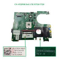 CN-072P0M 072P0M 72P0M FOR Dell 17R N7720 7720 motherboard Intel HM57 tested OK