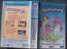 cassette vhs mon petit poney un monde magique