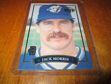 1992 Donruss McDonald's MVP JACK MORRIS TORONTO BLUE JAYS # 4 OF 6