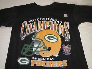 Vtg Green Bay Packers Super Bowl NFL T-shirt Medium **NEW**