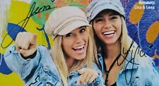 LISA & LENA - Autogrammkarte - Autogramm Fan Sammlung Clippings NEU