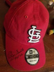 Ozzie Smith Autographed St. Louis Cardinals New Era Hat Cap