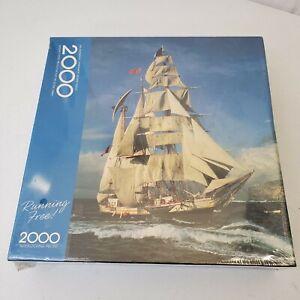 Springbok Running Free 2000 Piece Jigsaw Puzzle - Brand New, Sealed, Hallmark
