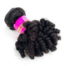 1bundle Virgin Afro Kinky Curly Human Hair Extensions Unprocessed Brazilian Hair