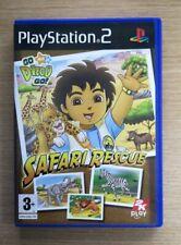 Go Diego Go Safari Rescue Completa Sony PlayStation 2 PS2 Libre P&P