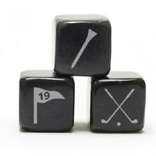 NEW Teroforma Whisky Stones Icon - Golf - Soapstone Beverage Cubes (Set of 6)