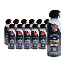 12-Pack Falcon Dust-Off® XL 12 oz. Compressed Air Gas Duster Cans