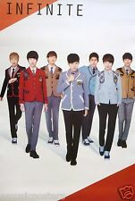 """INFINITE """"COLORFUL COATS & TIES"""" POSTER FROM ASIA - Korean Boy Band, K-Pop Music"""