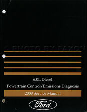 2008 Ford Econoline E350 6.0 Diesel Engine Diagnosis Manual Super Duty Van Codes
