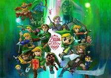 Zelda 1 A3 Poster G264