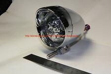 Motorcycle Headlight Spotlight Bullet Chrome 2.5in L C