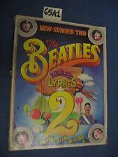 Beatles Illustrated Lyrics: 002 di John Aldridge (65 A 1)