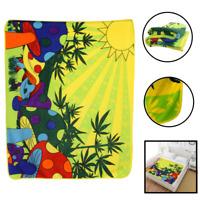 Mushroom Marijuana Blanket Stoner Weed Pot MMJ 420 Psychedelic Blanket