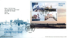 Royal Mail first day cover 2014 Seaside Architecture MS, Edinburgh pk