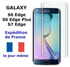 VERRE Trempé GALAXY S7 EDGE / S6 EDGE / PLUS TRANSPARENT Vitre Protection 3D