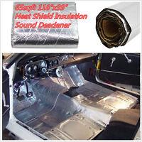 250X100cmCar Engine Sound Deadener Heat Shield Insulation Deadening Material Mat