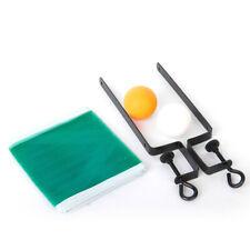Tischtennis Pong Set 2 Bälle, Klemmen kleines Netz Sport Spielzeug Kinder Party