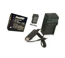 Battery + Charger for Ricoh Caplio G600 GX200VF KIT