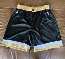 Authentic Washington Wizards Shorts Gilbert Arenas Adidas Gold Jersey 32 NBA VTG