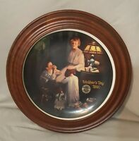 """Norman Rockwell """"Mother's Day 1990"""" By Knowles"""