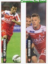 239-240 MARKOVIC - FERBER ROYAL EXCEL MOUSCRON STICKER PRO LEAGUE 2017 PANINI