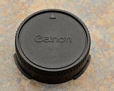 Genuine Canon FDn & FD Rear Lens Cap AE-1 AV-1 T-50 T-60 T-70 T-90 50 1.8(#1043)