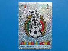 PANINI COPA AMERICA 2011 STICKER N.252 SCUDETTO MEXICO