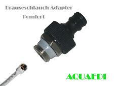 Brauseschlauch Adapter Komfort für Aquarium Wasserwechsel, Gardena Kompatibel