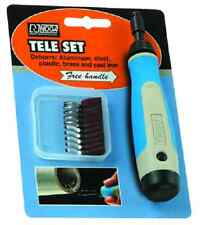 N Tele Set Deburr for Steel, aluminum, plastic, brass and cast iron, Noga NG8300