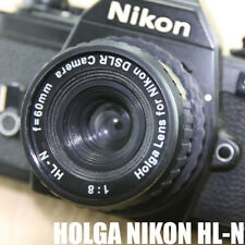 LOMO Holga style HLN 60mm Lens Black corner FOR Nikon Digital film Cameras F=60