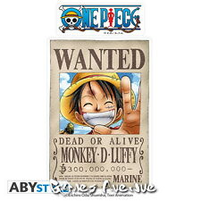 "ONE PIECE -  Stickers - 16x11cm/2 planches  "" Wanted Luffy/Zoro"" - ABYstyle !"