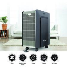 Portable Air Purifier Ion Purification UV-C Sanitizer Clean System Remote Wheel