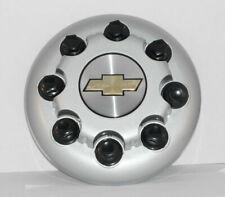 Silverado 3500 DRW 8 Lug Wheels 01-07 FRONT Center Cap p/n 15053704 SILVER