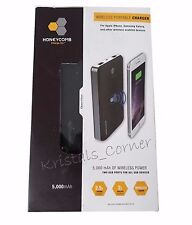 Honeycomb Wireless Portable Charger 5000 mAh & iPhone Wireless Lightning Adapter
