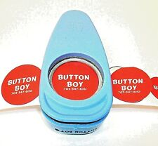 "1-1/2 Inch Button Boy Hand Punch for 1.5"" -Cutting Size 1.837"""