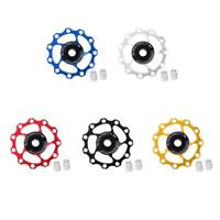 Bike Jockey Wheel Bicycle Rear Derailleur Guide Pulleys 11T Sealed Bearings