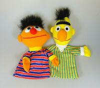 Ernie & Bert Handpuppe Sesamstraße ca. 25 & 30 cm