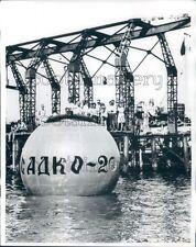 1968 Russian Research Submarine Sadko 2 Black Sea Press Photo