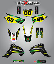 Kawasaki KLX 140 2015 - 2016 Custom Graphic  Kit -FACTORY STYLE stickers decals