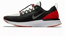 Nike Odyssey React Shield NRG Black Red Reflect Silver Running Shoes 6 BQ9780