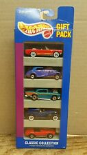 HOT WHEELS 1991 5 CAR GIFT PACK CLASSIC COLLECTION MUSTANG COBRA CHEVY New #1629