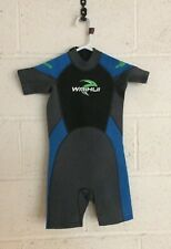 Junior Shorty Wetsuit 7-8 Year Old Child Marine 13 Wetsuit Clearance