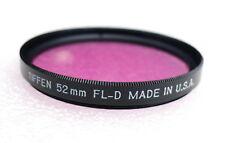 52mm Tiffen FL-D Fluorescent Filter - PERFECT LN